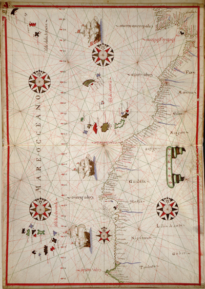 North West Africa 1590 antique map, rare map, heritage, royalty free, clip art
