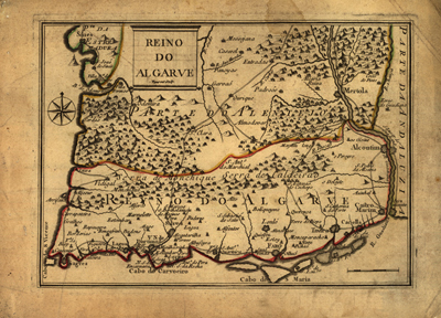 Portugal 1730 map, antique rare  old map, europe, spain, royalty free, clip art
