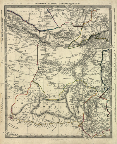 Middle East 1800s Map, Antique vintage rare map, royalty free, clip art