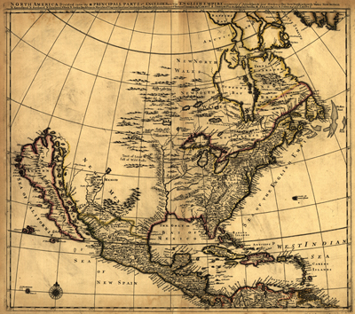 1685 Historical Antique vintage map, royalty free, clip art