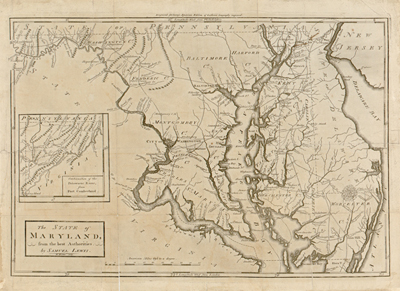 Maryland map 1795, usa, america, state, antique historical map, royalty free, clip art