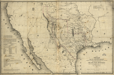 Texas map 1844, USA, America, state, Antique Rare Map, royalty free, clip art