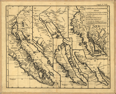 Western USA Antique Historical Map, Royalty Free, USA, US, America