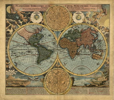 World projections antique historical royalty free clip art maps antique 1716 historical heritage maps royalty free clip art cartography atlas gumiabroncs Images