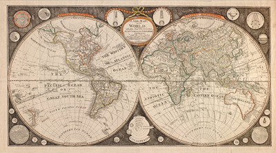 Vintage Historical antique 1799 map, vintage royalty free clipart
